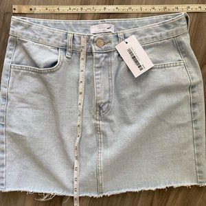 Oak + Fort Jean Mini Skirt